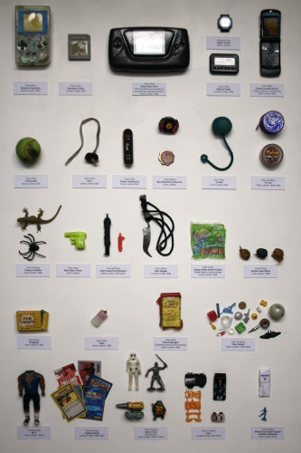 Guy Tarrant. Confiscated Items